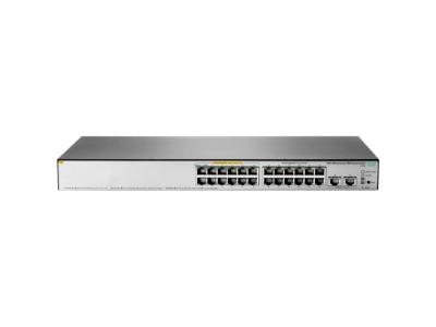 HPE OfficeConnect 1850 24G 2XGT PoE+ 185W Switch