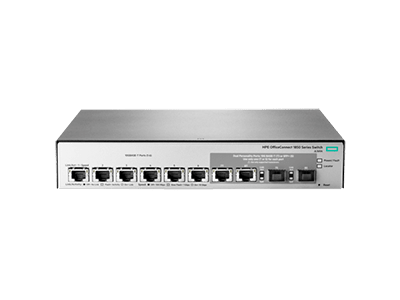 HPE OfficeConnect 1850 6XGT and 2XGT SPF+ Switch