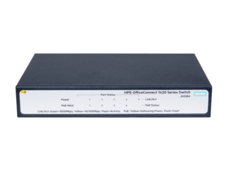 HPE OfficeConnect 1420 5G PoE+ Switch