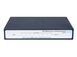 HPE OfficeConnect 1420 8G PoE+ Switch